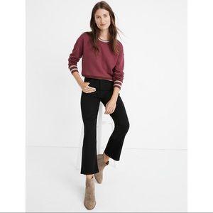 MADEWELL Black Frost Cali Demi-Boot TENCEL™ Jeans